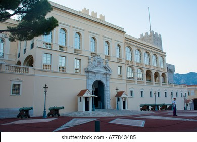 the princely Palace in Monaco