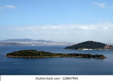 Princess Islands in Marmara Sea,Turkey.