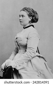 Princess Victoria (1840-1901), first born child of Queen Victoria and Prince Albert of Britain. She became German Empress and Queen of Prussia by marriage to German Emperor Frederick III.