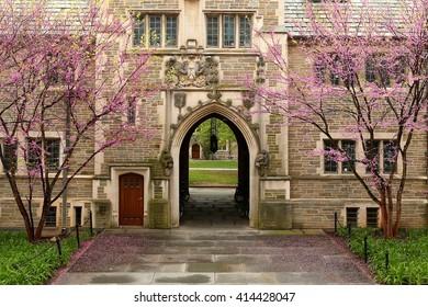 Princeton, New Jersey - April, 2016: Princeton University is a Private Ivy League University in New Jersey, USA.