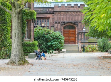 Princeton, New Jersey - October 15, 2017: Princeton University is a Private Ivy League University in New Jersey, USA.