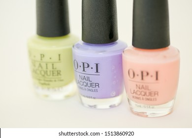 Princeton New Jersey September 24 2019:OPI Nail Lacquer - It's A Girl 0.5 oz - Image