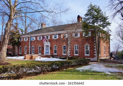 """PRINCETON, NJ -13 MARCH 2015- Editorial: Founded in 1896 and located on """"the street"""", the Quadrangle Club (Quad) is one of the eleven eating clubs at the Ivy League Princeton University."""