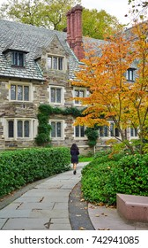 PRINCETON, NJ -15 SEP 2017- The campus of Princeton University, a private Ivy League research university in New Jersey, ranked the number one undergraduate college by US News & World Report in 2017.