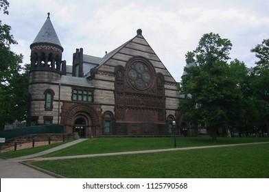 PRINCETON, NJ - SEPTEMBER 10 2008: Richardson Auditorium at Princeton University.