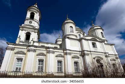 The Prince-Vladimir cathedral in Sankt-Petersburg, Russia