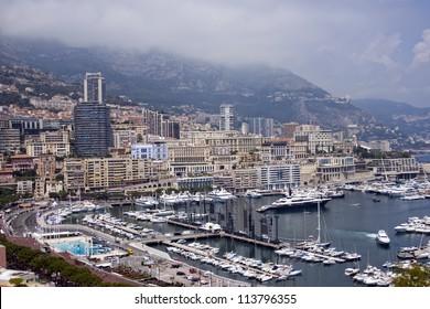 Principality of Monaco. Types.