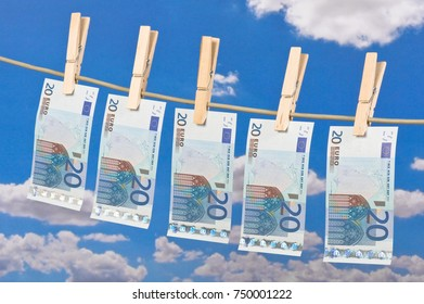 Print euro money