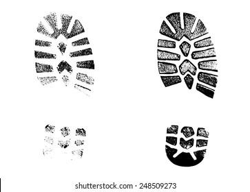 print footwear trace