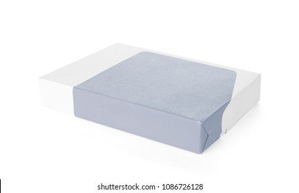 Print paper isolated on a white background