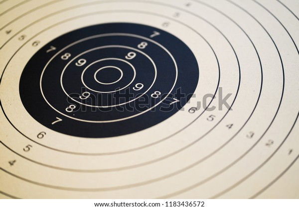 Printable Shooting Targets Gun Targets Stock Photo Edit Now