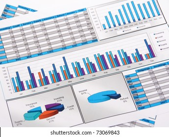 Printed Annual Report in Charts and Diagrams