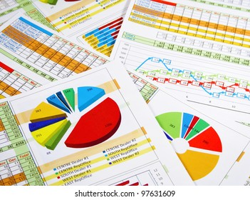 Printed Annual Report in Graphs and Diagrams