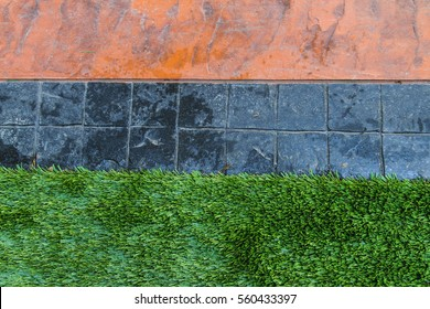 Printed concrete texture