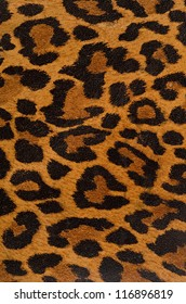 A printed representation of the beautiful markings of a leopard skin