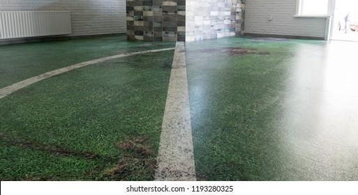 Printed Vinyl floor