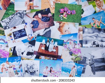 Printed wedding photos