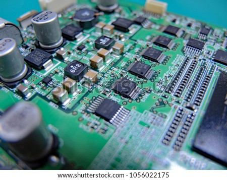 Remarkable Printed Wiring Board Stock Photo Edit Now 1056022175 Shutterstock Wiring Cloud Strefoxcilixyz