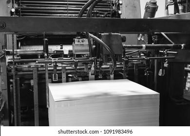 Printer ink machine rotary printing factory
