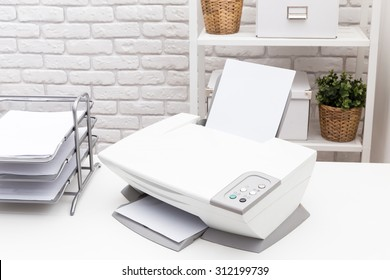 Printer, office equipment
