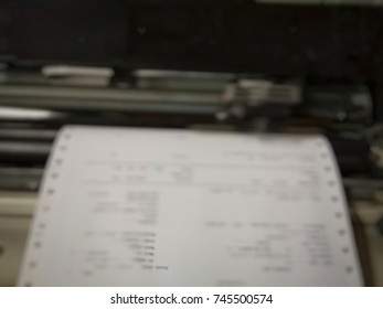 printer,blurred photo.business is commercial printing.
