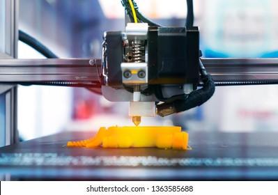Printing 3D printer Object