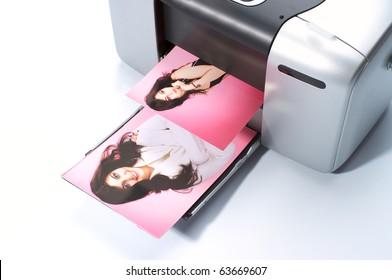 Printing colorful photos on small printer
