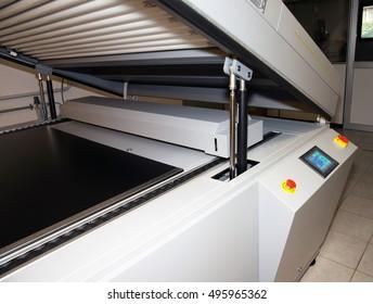 Printing plant - Flexographic printing plates