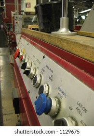 Printing Press Control Panel