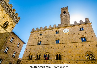 Priori palace in Volterra, Tuscany, Italy