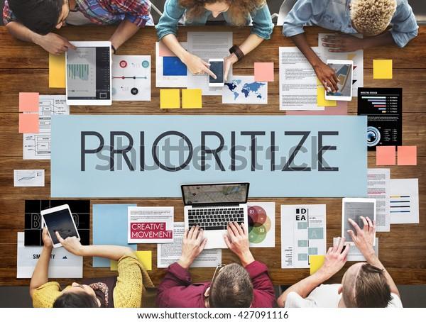 Prioritize Emphasize Efficiency Important Task Concept