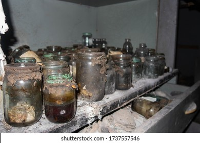 The Pripyat morgue in the Chernobyl exclusion zone