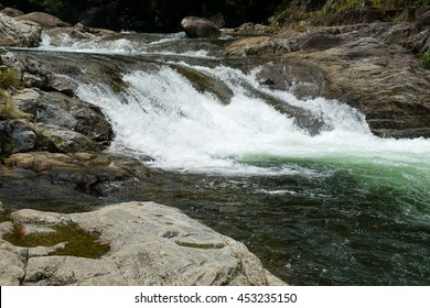 prisawan waterfall southern of thailand