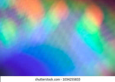 Prism like reflection or refraction abstract background.