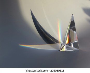 prism reflection with shadow