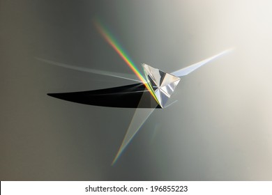 prism with shadow