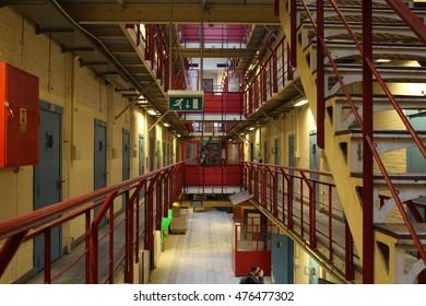 Prison Building Rotterdam