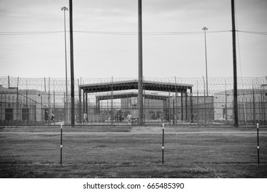 A prison - outside looking in