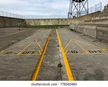 Prison Playground on Alcatraz