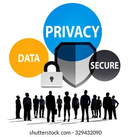 Privacy Data Secure Protection Safety Concept