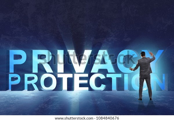 Privacy protection concept in modern IT technology