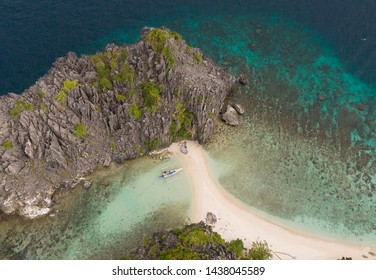 Private beach in the phillipines