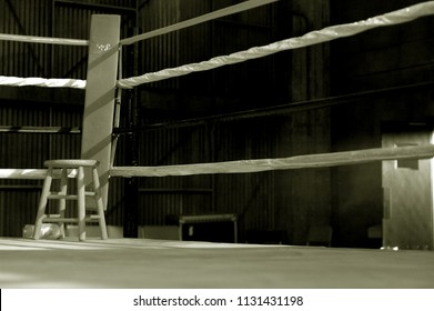 Private boxing ring