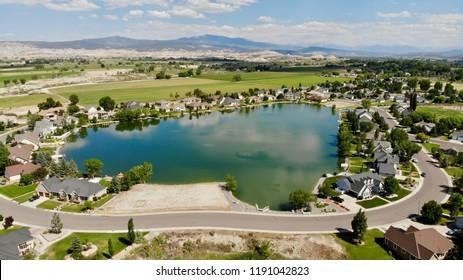 Private Lake in Montrose Colorado