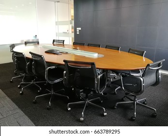 Private meeting room in a formal style and perfect layout with full facility provided.
