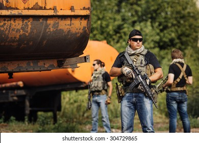 Private Military Contractor during the special secret operation