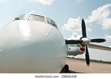 private plane ready to fly