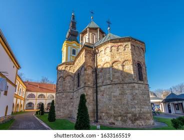 The Privina Glava Monastery, Serbian Orthodox monastery on the Fruška Gora mountain in northern Serbia, in the province of Vojvodina - Shutterstock ID 1633165519