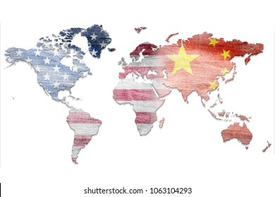Problem of duty between the US and China.