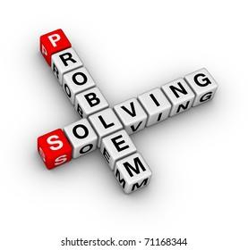 problem solving crossword